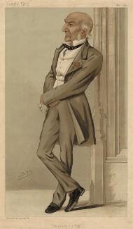 William Ewart Gladstone, by Sir Leslie Ward - NPG D8423