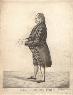 Samuel Dixon, by and published by Richard Dighton - NPG D8427