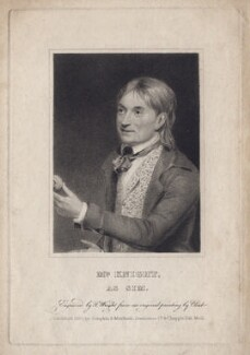 Edward Knight As Sim in O'Keefe's 'Wild Oats', by Thomas Wright, after  George Clint - NPG D8445