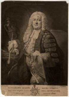 Sir William Browne, by John Dixon, after  Thomas Hudson - NPG D845