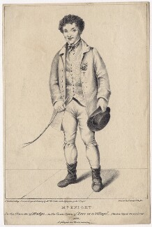 Edward Knight as Hodge in Bickerstaff's 'Love in a Village', by F. Waldeck, after  William Foster - NPG D8451
