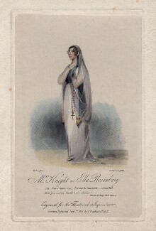 Susan Knight (née Smith) as Ella Rosenberg in Kenney's 'Ella Rosenberg', by James Thomson (Thompson), published by  Clement Chapple, after  William Foster - NPG D8457
