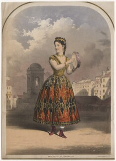Adelina Patti as Esmeralda, printed by M & N Hanhart - NPG D8458