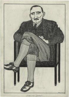 Bernard Darwin, by Powys Evans - NPG D8468