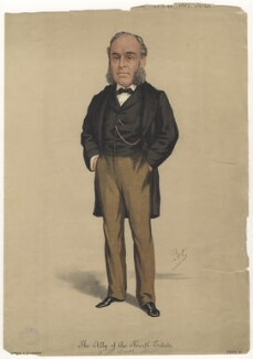 William Henry Smith, by 'Pet', printed by  Stevens & Co - NPG D8493
