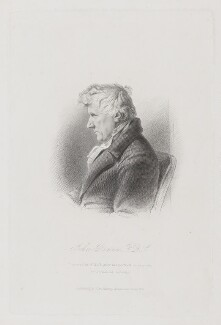 John Rennie Sr, by William Holl Jr, published by  John Samuel Murray, after  Archibald Skirving, published 1861 - NPG D8494 - © National Portrait Gallery, London