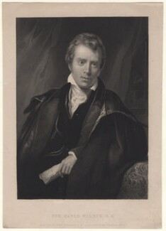 Sir David Wilkie, by Francis Holl, after  Thomas Phillips - NPG D8509