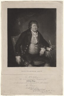 Tate Wilkinson, by M.U. Sears and Co, published by  Moon, Boys & Graves, published by  Rees Davies - NPG D8518