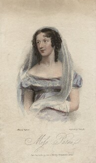 Mary Ann Paton (Mrs Wood), by Thomas Woolnoth, published by  Dean & Munday, after  Thomas Charles Wageman - NPG D8522