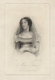 Mary Ann Paton (Mrs Wood), by Thomas Woolnoth, after  Thomas Charles Wageman - NPG D8532