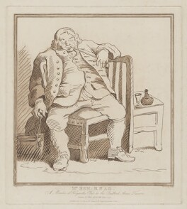 Benjamin Read, by and published by Richard Livesay, published for  Jane Hogarth (née Thornhill), after a drawing attributed to  William Hogarth - NPG D8537