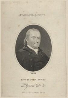 John Jones, by William Ridley - NPG D8561