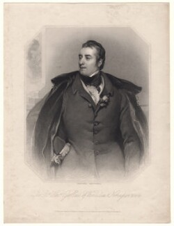 George William Finch-Hatton, 10th Earl of Winchilsea, by John Henry Robinson, published by  R. Ryley, published by  James Fraser, published by  Sir Francis Graham Moon, 1st Bt, after  Thomas Phillips - NPG D8574