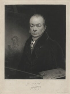 George Clint, by Thomas Goff Lupton, after  George Clint - NPG D8575