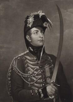 William II of Holland when Prince of Orange-Nassau, by Charles Turner, after  John Singleton Copley, published 1813 - NPG D8591 - © National Portrait Gallery, London