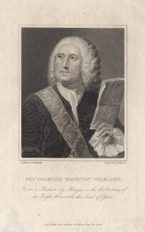 Sir Charles Hanbury Williams, by Richard Rhodes, published by  W. Walker, after  Anton Raphael Mengs - NPG D8595