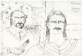 John Bellany; Ian Botham, by John Bellany, 1985 - NPG D8599 - © National Portrait Gallery, London