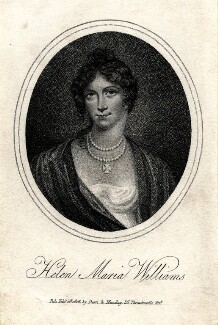 Helen Maria Williams, published by Dean & Munday, after  Unknown artist - NPG D8601