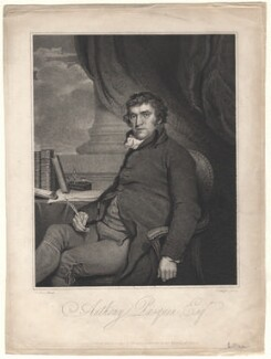 John Williams, by J. Wright, published by  Tristram Bamfield Freeman, after  Sir Martin Archer Shee - NPG D8605