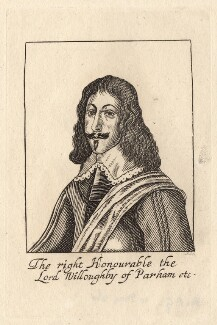 Francis Willoughby, 5th Baron Willoughby of Parham, by R.S. - NPG D8612