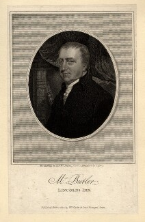 Charles Butler, by Robert William Sievier, published by  William Clarke & Sons, after  James Barry - NPG D8639