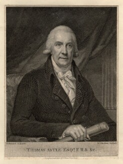 Thomas Astle, by William Skelton, after  Henry Howard - NPG D8643
