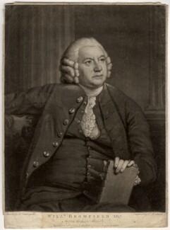 William Bromfield, by John Raphael Smith, after  Benjamin Vandergucht - NPG D867