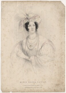 Eliza Paton, by William Sharp, published by  Joseph Dickinson, after  J. Stewart - NPG D8680