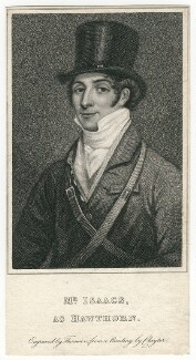 John Isaacs as Hawthorn in Bickerstaff's 'Love in a Village', by James Thomson (Thompson), after  Thomas Clater - NPG D8688