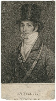 John Isaacs as Hawthorn in Bickerstaff's 'Love in a Village', by James Thomson (Thompson), after  Thomas Clater - NPG D8689