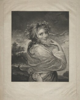 Emma Hamilton as a Bacchante, after Sir Joshua Reynolds - NPG D8700