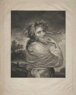 Emma Hamilton as a Bacchante, after Sir Joshua Reynolds, (circa 1783-1784) - NPG D8700 - © National Portrait Gallery, London