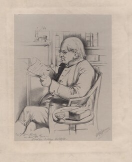 William Kirby, by William Blundell Spence - NPG D8703