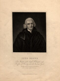 John Brown, by William Home Lizars, after  Unknown artist - NPG D8713