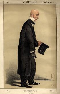 John Duke Coleridge, 1st Baron Coleridge, by Alfred Thompson (Atn), published 1870 - NPG D8716 - © National Portrait Gallery, London