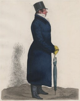Charles or Hugh Grant, by and published by Richard Dighton - NPG D8722
