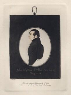 John Mytton, after William Webb - NPG D8734