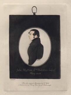 John Mytton, after William Webb - NPG D8735