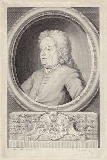 Heneage Finch, 5th Earl of Winchilsea, by George Vertue - NPG D8739