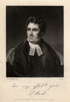 Thomas Arnold, by Benjamin Holl, after  Thomas Phillips - NPG D8740