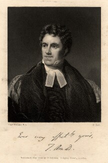 Thomas Arnold, by Benjamin Holl, after  Thomas Phillips - NPG D8741