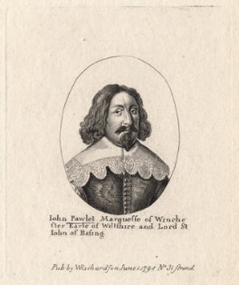 John Paulet, 5th Marquess of Winchester, published by William Richardson, after  Wenceslaus Hollar - NPG D8744