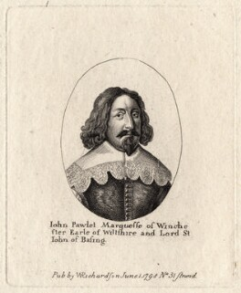 John Paulet, 5th Marquess of Winchester, published by William Richardson, after  Wenceslaus Hollar - NPG D8745