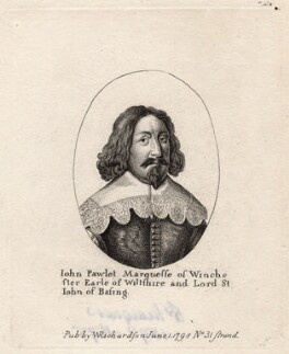 John Paulet, 5th Marquess of Winchester, published by William Richardson, after  Wenceslaus Hollar - NPG D8746