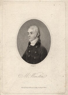 James Winston, by William Ridley, published by  Vernor & Hood - NPG D8753
