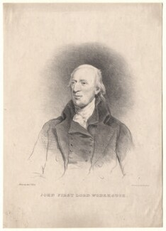 John Wodehouse, 1st Baron Wodehouse, by Harriet Gunn (née Turner), printed by  Graf & Soret, after  W. Hornsby - NPG D8779