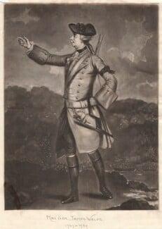 James Wolfe, by Richard Houston, after  J.S.C. Schaak - NPG D8784