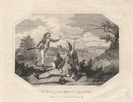 James Wolfe ('The Death of General Wolfe at the Seige of Quebec'), by William Grainger, after  Hamilton - NPG D8785