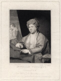William Woollett, by Caroline Watson, published by  John Boydell, after  Gabriel Stuart - NPG D8798