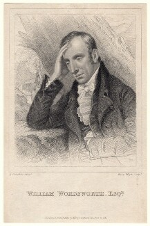 William Wordsworth, by Henry Meyer, published by  Henry Colburn, after  Richard Carruthers, published 1 February 1819 - NPG D8807 - © National Portrait Gallery, London